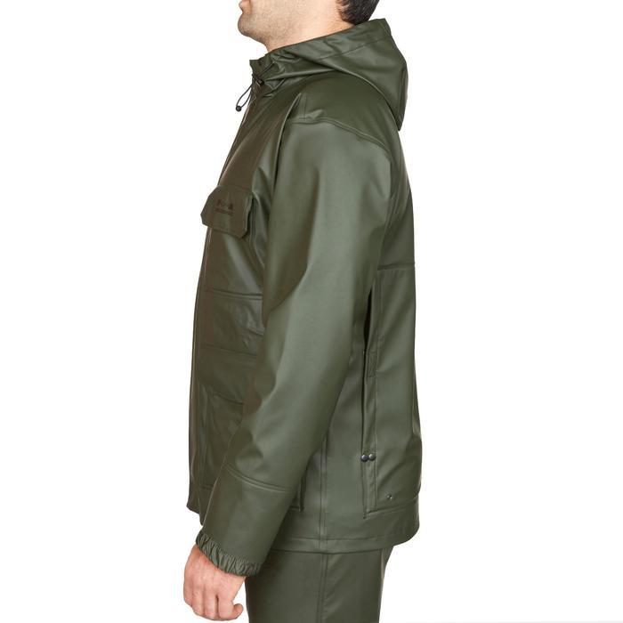 Waterdichte jas voor de jacht 300 groen
