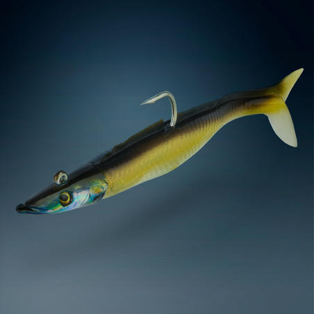 Eelo Combo Sand Eel Soft Lure Shad 110 8g Natural
