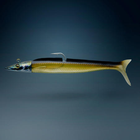 Eelo Combo Sand Eel Soft Lure Shad 150 18g Natural