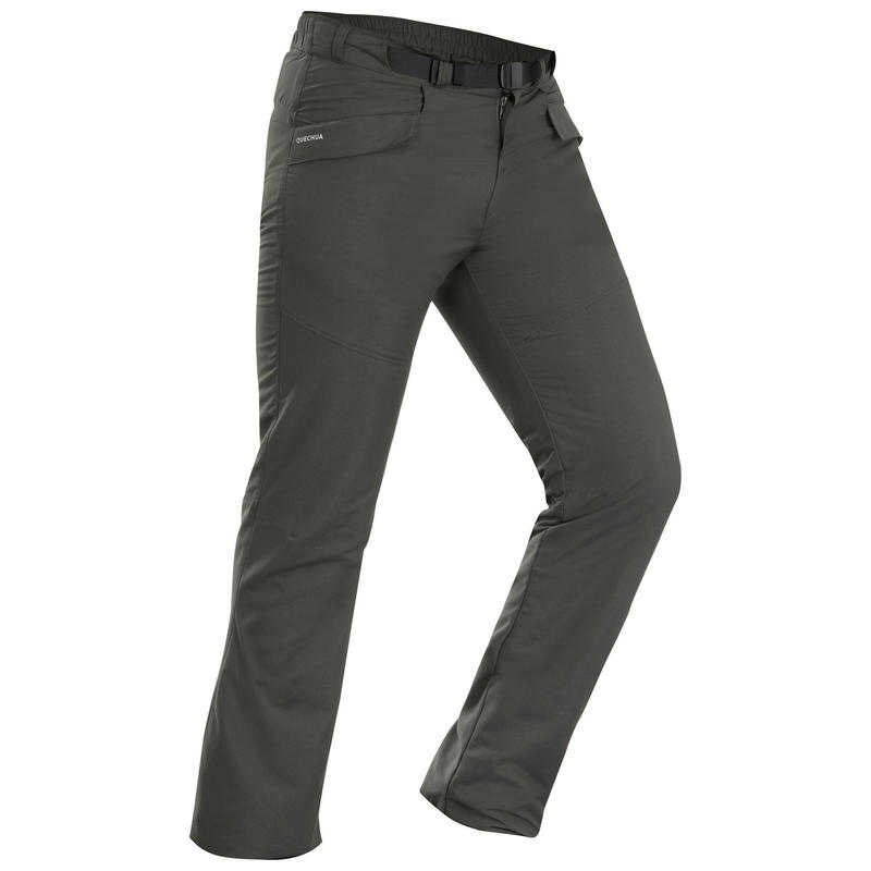 Men's Warm Water-Repellent Hiking Trousers - SH100 ULTRA-WARM
