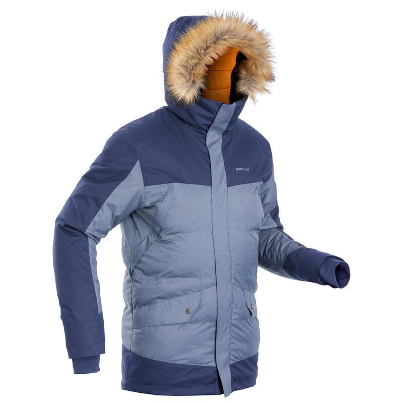 Parka légère imperméable de randonnée - SH500 X-WARM -15°C - homme