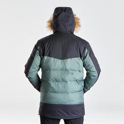 Parka light chaude imperméable de randonnée neige - SH500 X-WARM - homme.