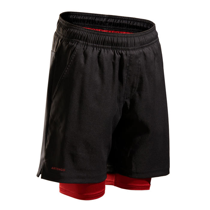 SHORT THERMIQUE TH 500 GARCON BLACK RED
