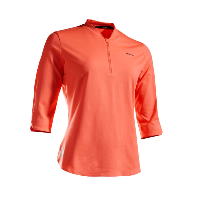 NŐI TENISZ RUHÁZAT MINDEN IDŐRE Tenisz - Női teniszpóló TS DRY 900 ARTENGO - Tenisz ruházat