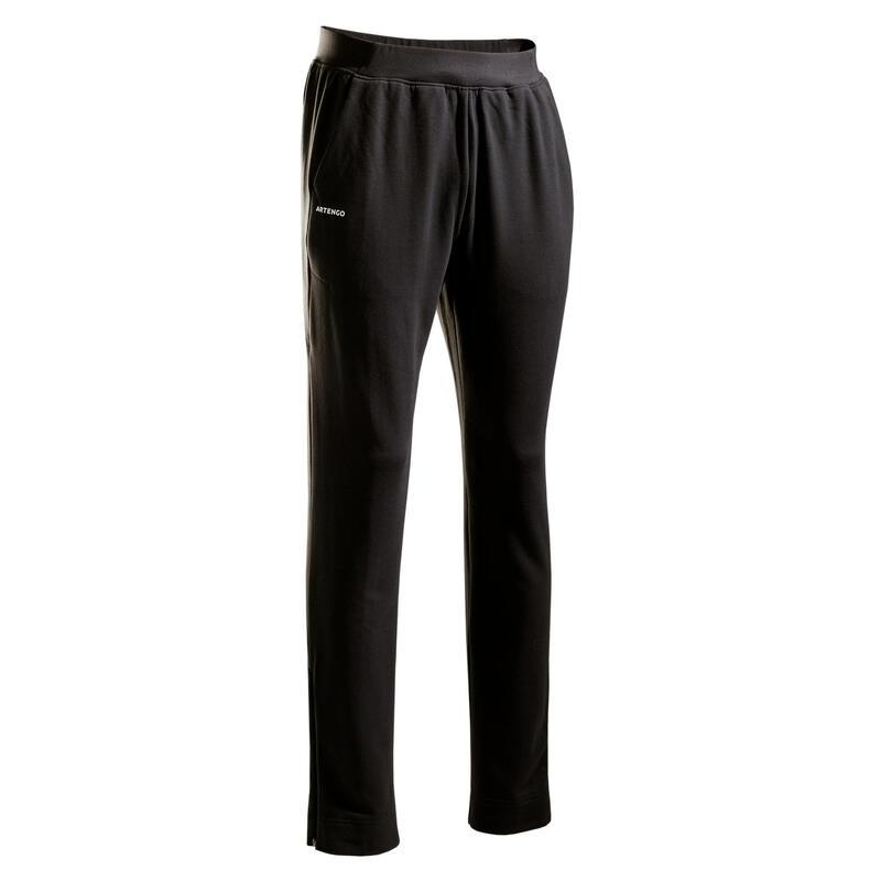 Pantalon Călduros Tenis TPA500 Gri Bărbați