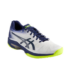 CHAUSSURES DE TENNIS HOMME GEL SOLUTION SPEED FF BLANC BLEU MULTI COURT