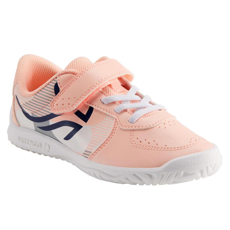 Scarpe tennis bambina TS130 rosa-bianco