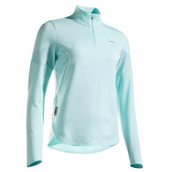 Women's Long-Sleeved T-Shirt TH 900 - Mint