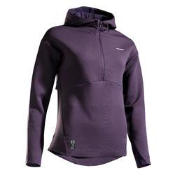 女款網球運動衫SW DRY 900 - 紫色