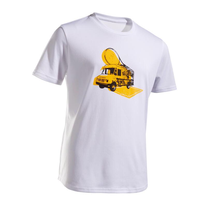 Tennis T-shirt voor kinderen TTS100 Ace Cream