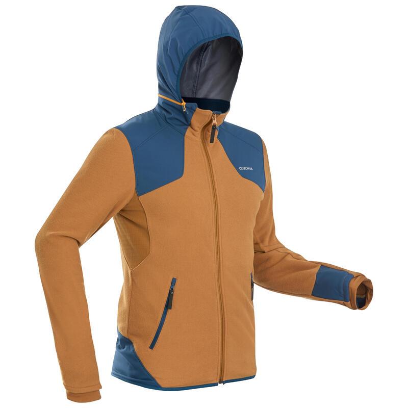 Warme fleece wandeljas heren SH500 X-Warm