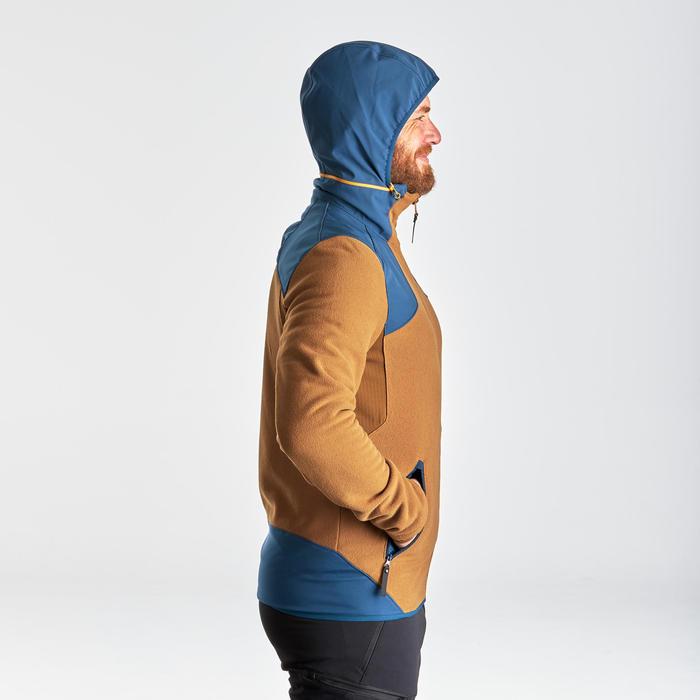 Fleecejacke Winterwandern SH500 X-Warm Herren