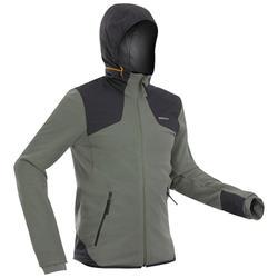 男款超保暖雪地健行刷毛外套SH500