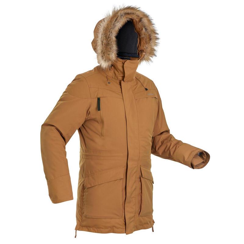 Parka chaude imperméable de randonnée neige - SH500 U-WARM - homme.