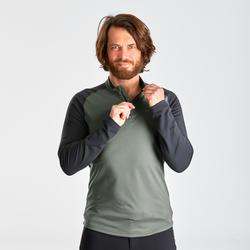 T-Shirt chaud manches longues de randonnée - SH100 WARM - homme