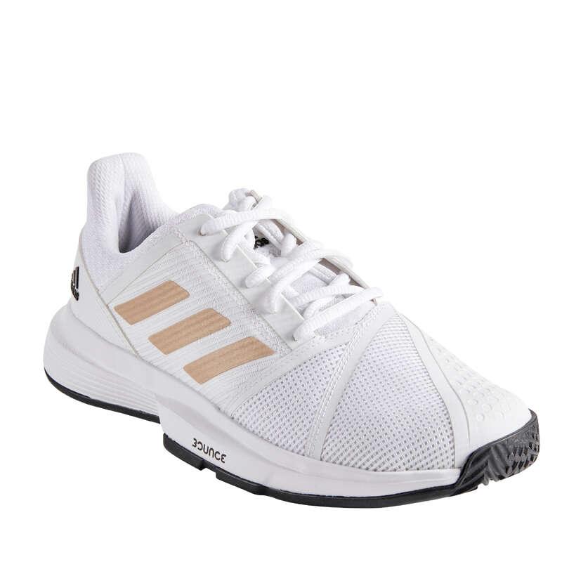 DAMSKOR ALLA UNDERLAG NYBÖRJARE/AVANCERA Damskor - Tennissko COURTJAM BOUNCE ADIDAS - Typ av sko