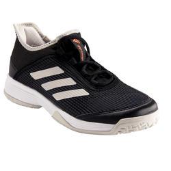 Tennisschoenen voor kinderen Adizero Club zwart