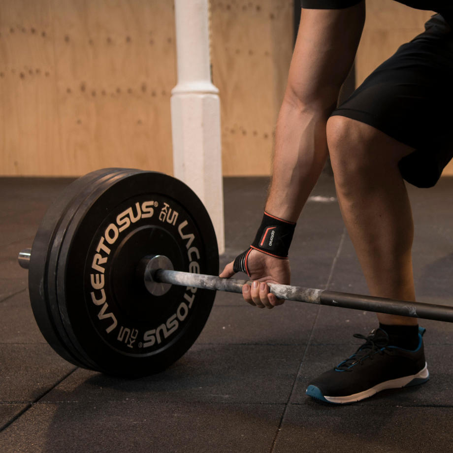 SINGLEHAND BARBELL CURL FOR BICEPS
