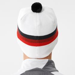 Bonnet ski de fond adulte - Swix tradition / blanc avec pompon