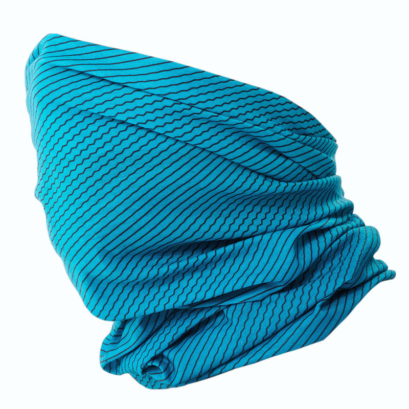 Cross-country Skiing Tube Scarf - Turquoise