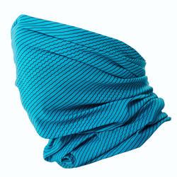 Gola para pescoço Ski de fundo azul turquesa