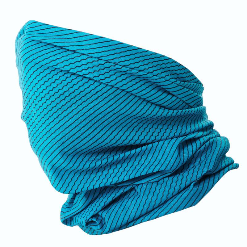Braga de cuello esquí de fondo azul turquesa