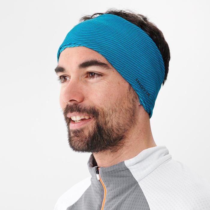 Nekwarmer voor langlaufen turquoise