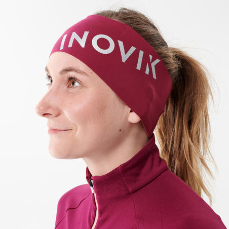 Adult Cross-Country Ski Headband XC S Head 500 - Purple