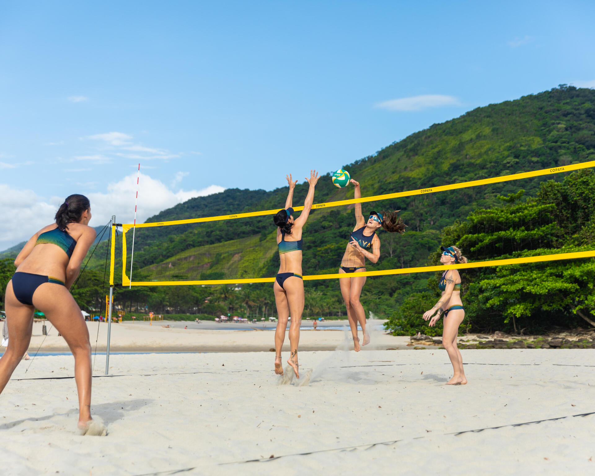 BV900 beach volleyball net