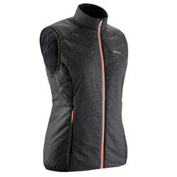 Warme thermovest voor langlaufen dames 100