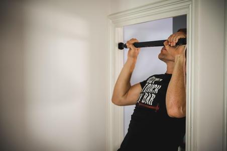 Strength Training Pull-Up Bar (70-95cm)