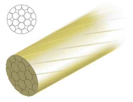 Câble de dérailleur antifriction universel