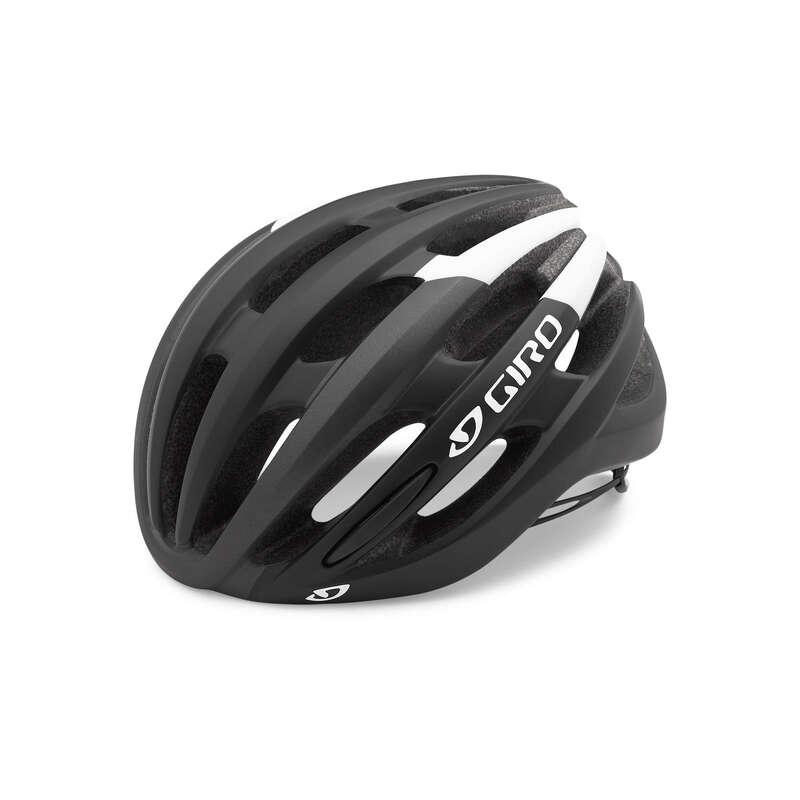 HJÄLMAR FÖR LANDSVÄGSCYKEL Cykelsport - Cykelhjälm ANGON MIPS svartvit GIRO - Cykelhjälmar