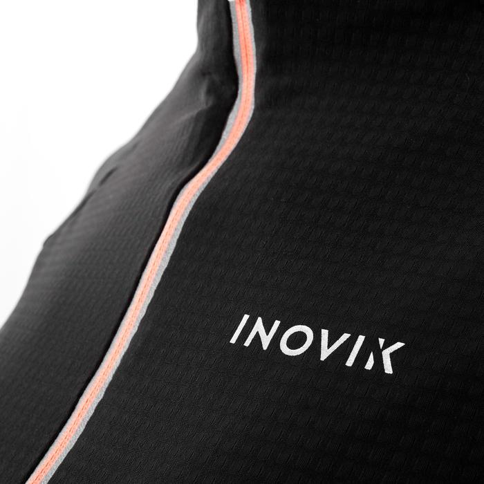 Tee-shirt de ski de fond léger noir - XC S tee-shirt 500 - FEMME