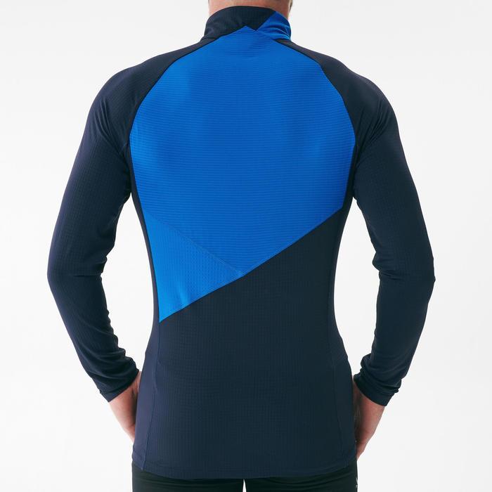 Tee-shirt léger manches longues bleu - XC S TS 500 - HOMME