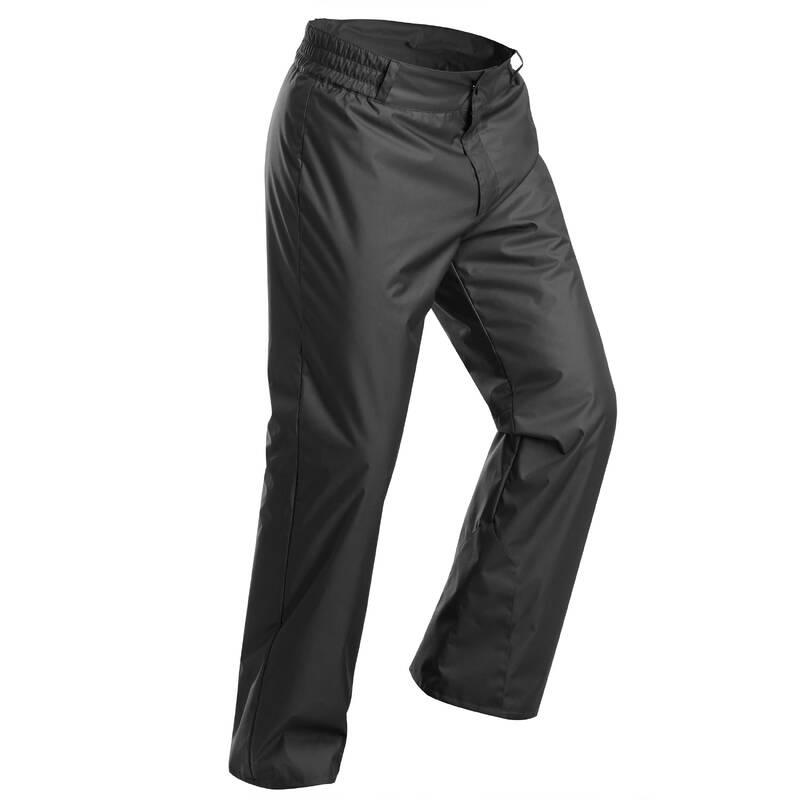 PÁNSKÉ OBLEČENÍ NA LYŽOVÁNÍ (ZAČÁTEČNÍCI) Lyžování - LYŽAŘSKÉ KALHOTY 100 ČERNÉ WEDZE - Lyžařské oblečení a doplňky