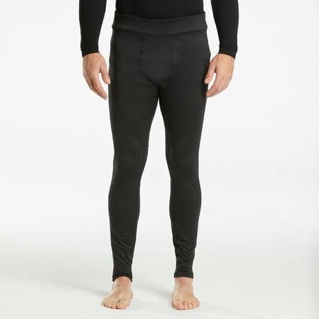 Men's Ski Base Layer Bottoms 500 - Black