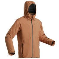 Men's Warm Ski Jacket 500 - Camel