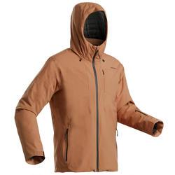 Winterjas heren waterdicht | Ski jas heren | 500 | Bruin