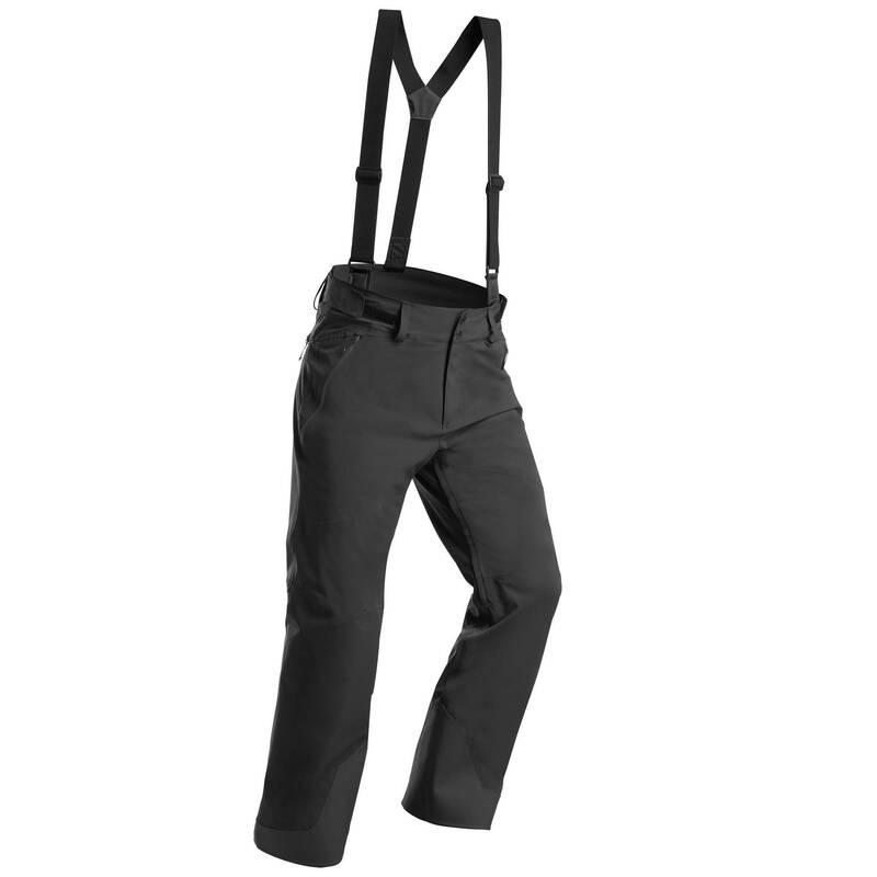 PÁNSKÉ OBLEČENÍ NA LYŽOVÁNÍ (POKROČILÍ) Lyžování - LYŽAŘSKÉ KALHOTY 580 ŠEDÉ WEDZE - Lyžařské oblečení a doplňky