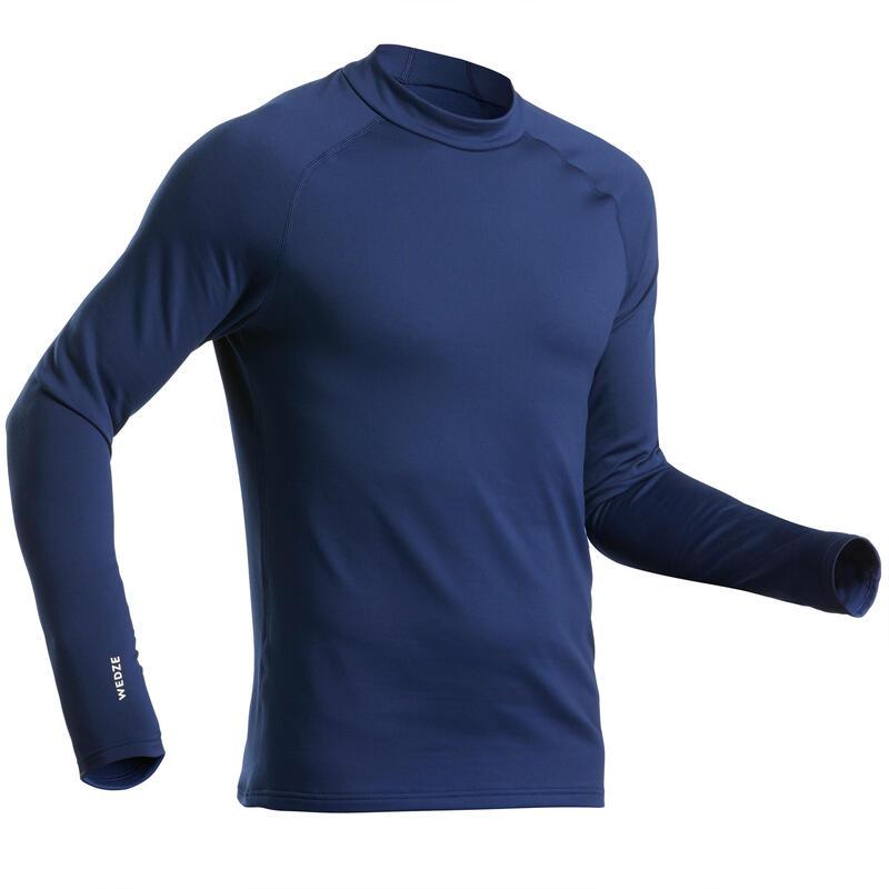 Bluză schi 500 Bleumarin Bărbaţi