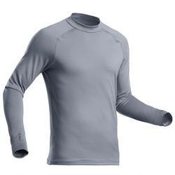 Thermoshirt voor skiën heren 500 grijs