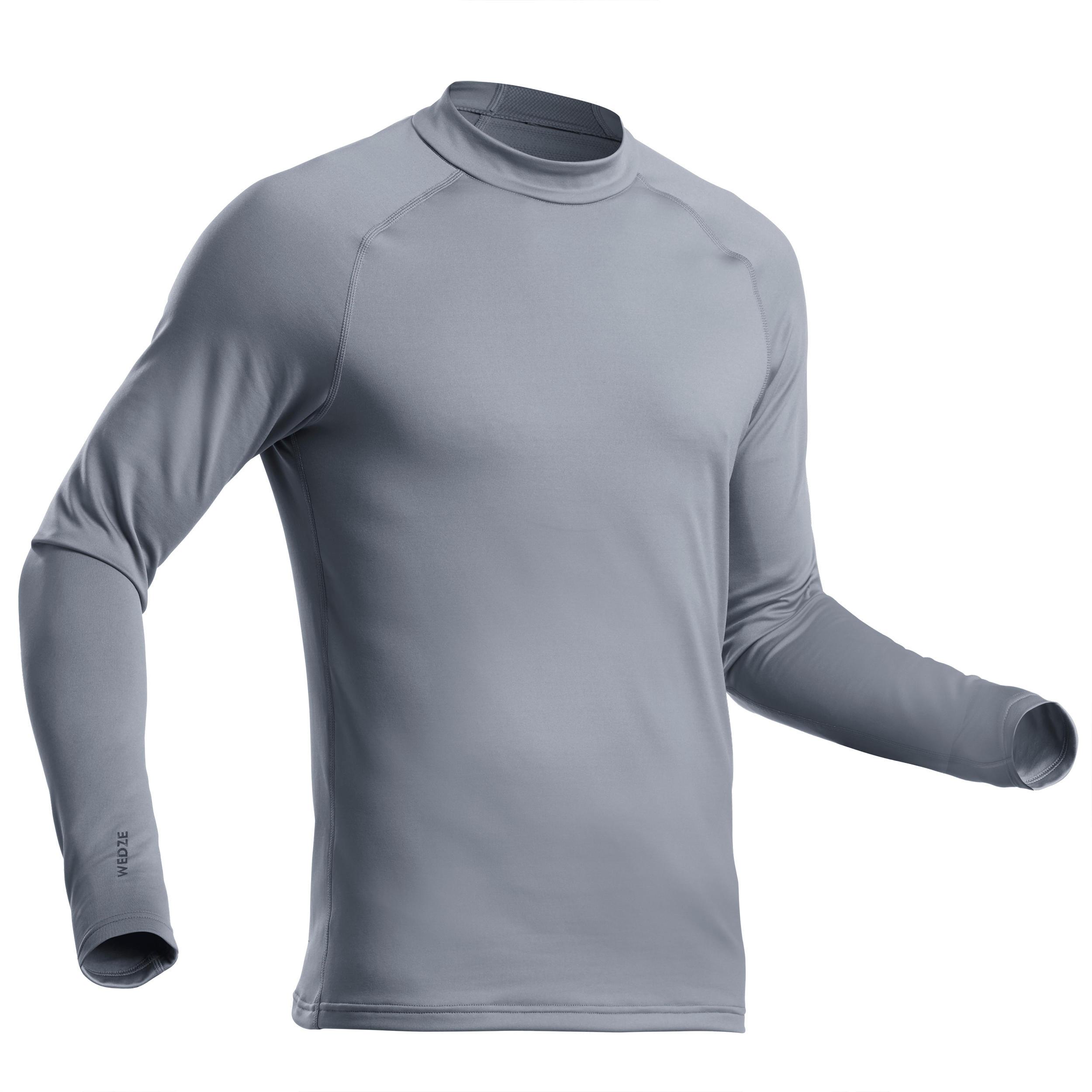 Bluză schi 500 fermoar scurt imagine produs