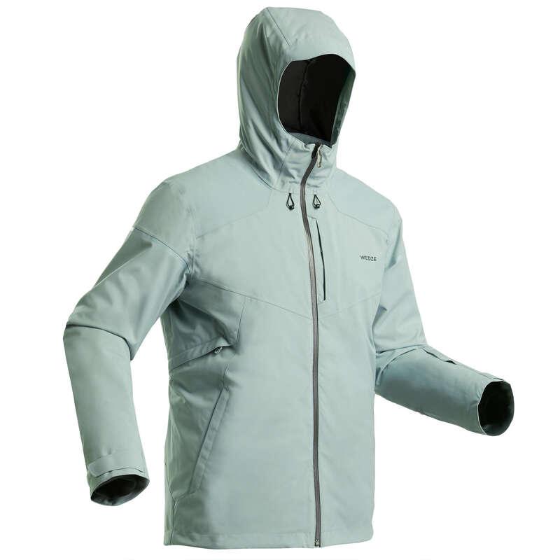 SKIDUTRUSTNING SKIDÅKNING NYBÖRJARE MAN Vintersport - Jacka UTFÖRSÅKNING 580 H Grön WEDZE - Skidkläder