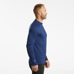 Sous-vêtement de Ski Homme BL 500 Haut Bleu marine.