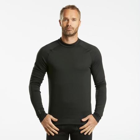 Men's Ski Base Layer Top 500 - Black