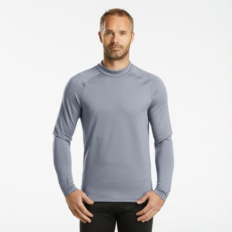 Men's skiing base layer Top BL 500 - grey