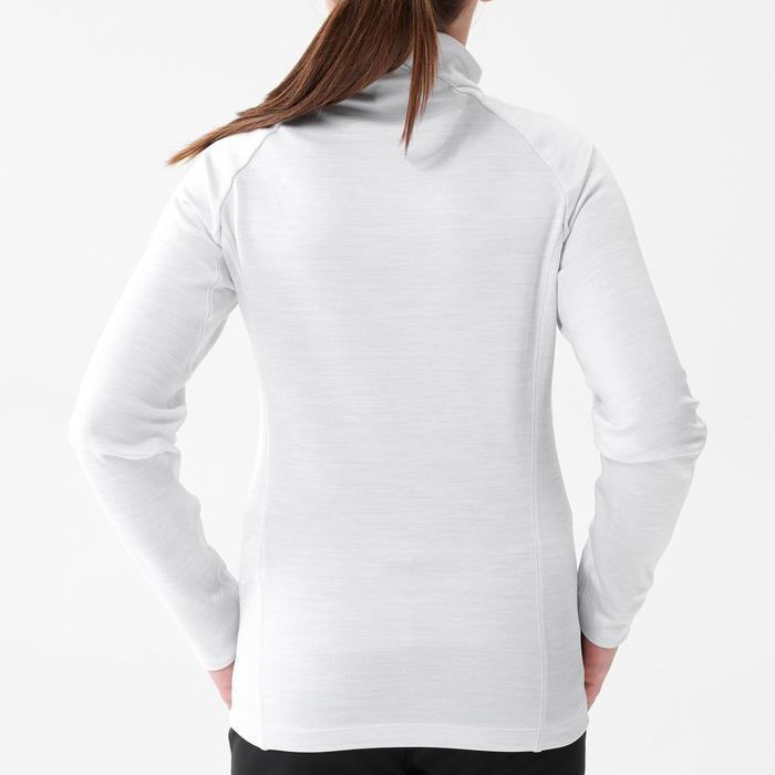 Tee-shirt manches longues chaud blanc XC S TS 100 - enfant