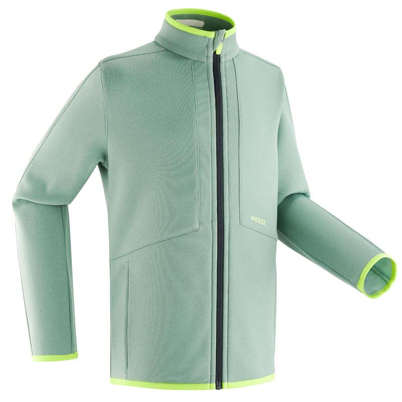 Jachetă Schi pe Pârtie 900 Verde Copii