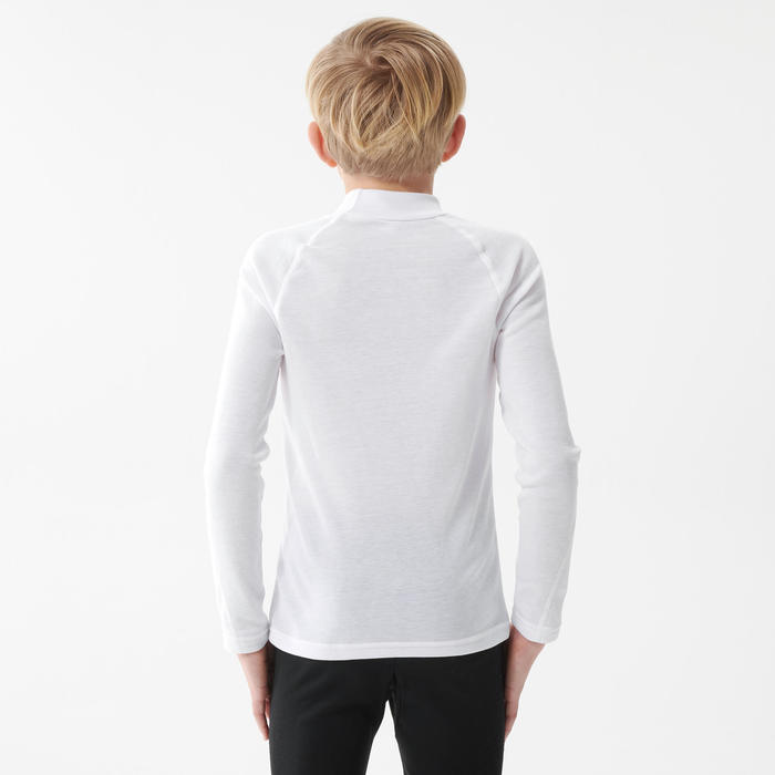 Thermoshirt voor skiën kinderen BL 100 wit